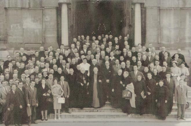 1959. 25ème anniversaire du groupement des salles familiales du Lyonnais